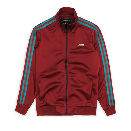 Mulberry Track Jacket // Burgundy (S)