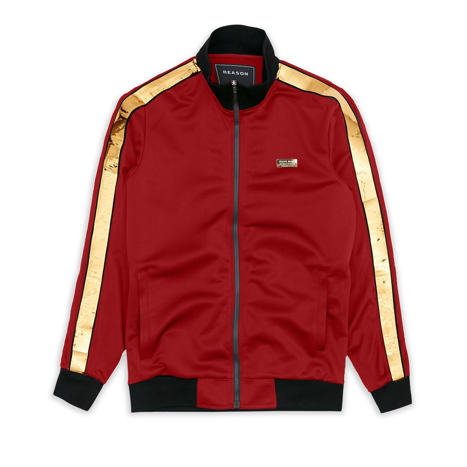 0d2a4f4a6f6 Madison Track Jacket    Red (L) - CLEARANCE  Outerwear - Touch of Modern