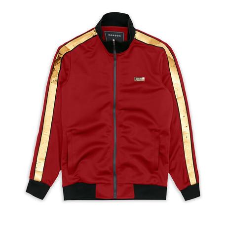 Madison Track Jacket // Red (S)