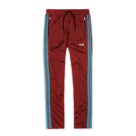 Mulberry Track Pants // Burgundy (S)