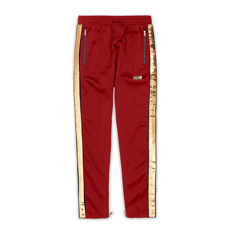 Madison Track Pants // Red (S)