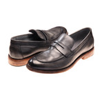 Alessandro Loafer // Grey Leather (Euro: 43)