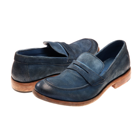 Alessandro Loafer // Navy Suede (Euro: 40)