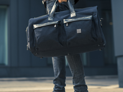James Hawk The Business Travel Bag Suit Weekender Bag