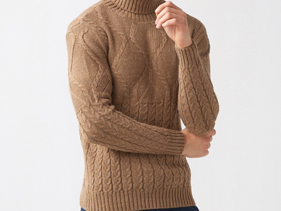 Photo of MCR Coats, Sweaters, & Pants Bryce Tricot Jumper // Brown (S) by Touch Of Modern