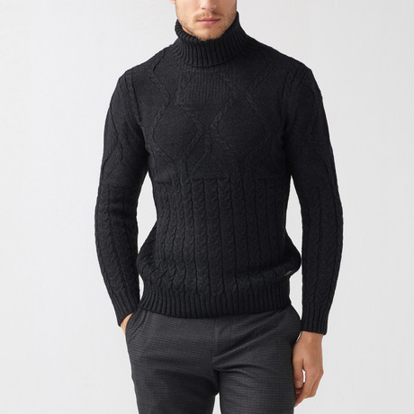 Bryce Tricot Sweater // Black (S)