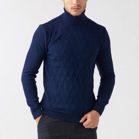 Milford Tricot Sweater // Dark Blue (S)