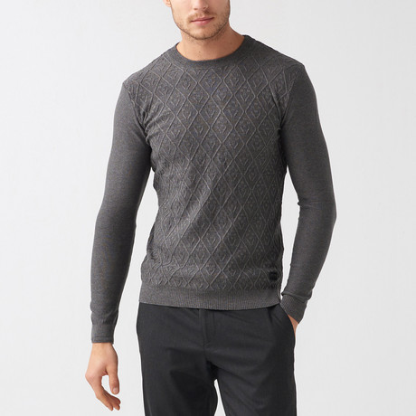 Tanner Tricot Jumper // Anthracite (S)