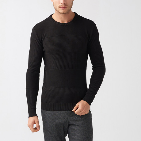 Josiah Tricot Sweater // Black (S)