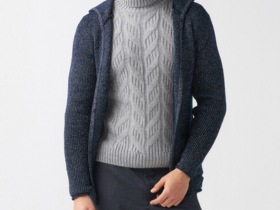 MCR Coats, Sweaters, & Pants Bud Tricot Cardigan // Dark Blue (S) by Touch Of Modern - Denver Outlet
