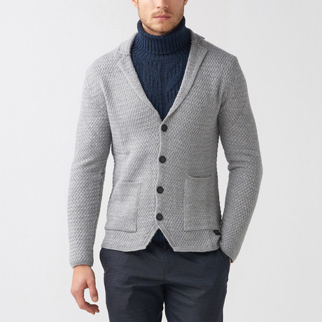 Olen Tricot Jacket // Gray (S)