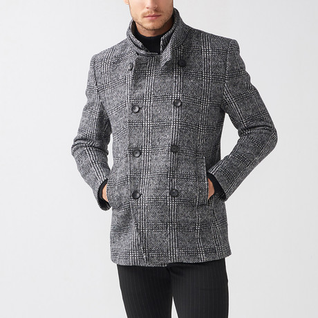 Rupert Coat // Dark Gray (Euro: 44)