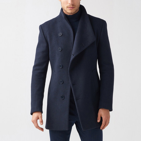 Mac Coat // Dark Blue (Euro: 44)