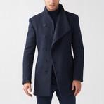 Mac Coat // Dark Blue (Euro: 44)