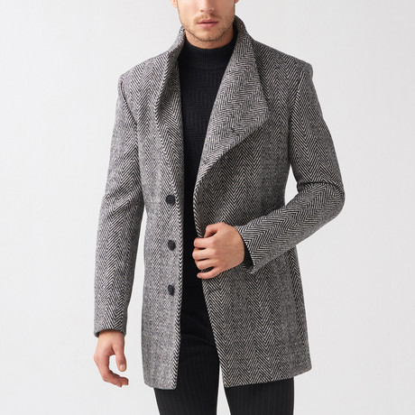 Tory Coat // Gray (Euro: 46)