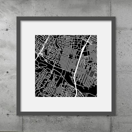 Austin // Framed Poster (Black)