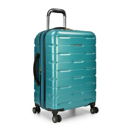 "Traveler's Choice Ritani 22"" Hardside Expandable Spinner, Teal (Teal)"