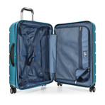 "Traveler's Choice Ritani 26"" Hardside Expandable Spinner, Teal (Teal)"