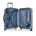 "Traveler's Choice Ritani 22"" Hardside Expandable Spinner, Silver (Silver)"