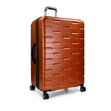 "Traveler's Choice Ritani 30"" Hardside Expandable Spinner, Burnt Orange (Orange)"