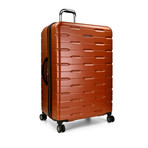 "Traveler's Choice Ritani 30"" Hardside Expandable Spinner, Burnt Orange (Orange)"