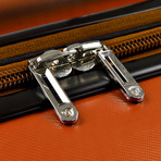 "Traveler's Choice Ritani 26"" Hardside Expandable Spinner, Orange (Orange)"