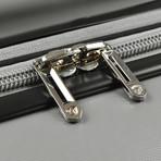 Traveler's Choice Ritani 3-Piece Hardside Spinner Luggage Set, Silver (Silver)