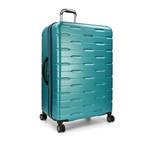 Traveler's Choice Ritani 3-Piece Hardside Spinner Luggage Set, Teal (Teal)