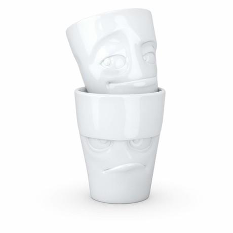 Grumpy + Impish Mugs // Without Handles