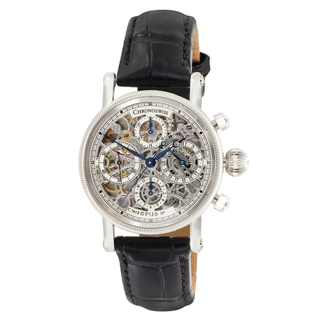 Chronoswiss Opus Skeleton Chronograph Automatic // CH 7523 S // New