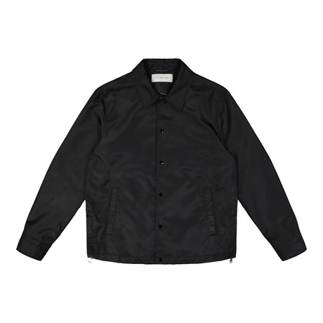 Brooklyn Coach's Jacket // Black (M)
