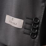 Men's Solid Suit // Black (Euro: 44)
