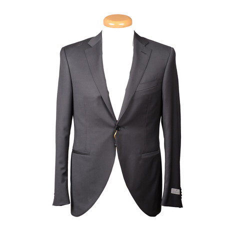 Men's Solid Suit // Black (Euro: 44)