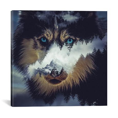 "Dog // Paul Haag (18""W x 18""H x 0.75""D)"