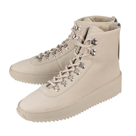 Fear Of God // Nubuck Hiking High-Top Sneakers // Gray (US: 6)