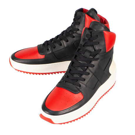 Fear Of God // Varsity Basketball High-Top Sneakers // Red (US: 6)