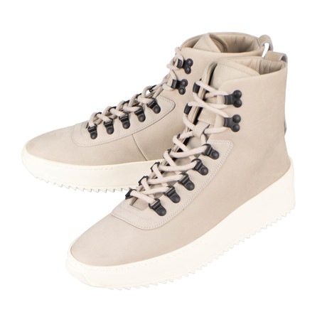 Fear Of God // Perla Nubuck Hiking High-Top Sneakers // Gray (US: 6)