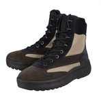 Yeezy // Season 5 Multi-Material Lace-Up Military Boots // Brown (US: 6)