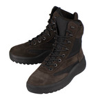 Yeezy // Season 5 Oil Thick Suede + Nylon Lace-Up Military Boots // Brown (US: 6)