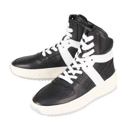 Fear Of God // Basketball High-Top Sneakers // Black (US: 6)