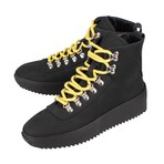 Fear Of God // Nubuck Leather Lace-Up Hiking Sneakers // Black (US: 6)