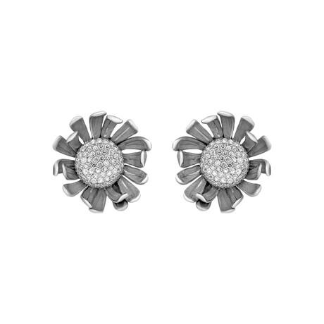 Annamaria Cammilli Prelude 18k White Gold Diamond Earrings II