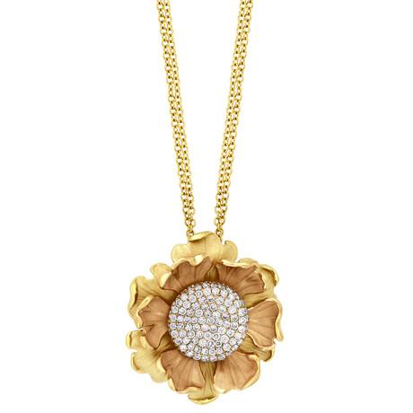 Annamaria Cammilli Lirika 18k Two-Tone Diamond Pendant