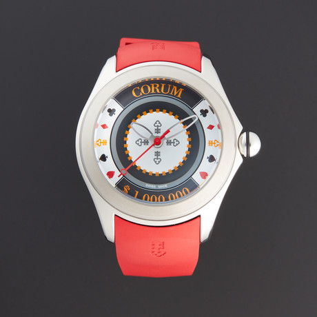 Corum Bubble Casino Chip Automatic // 082.410.20-0176 CH01 // New