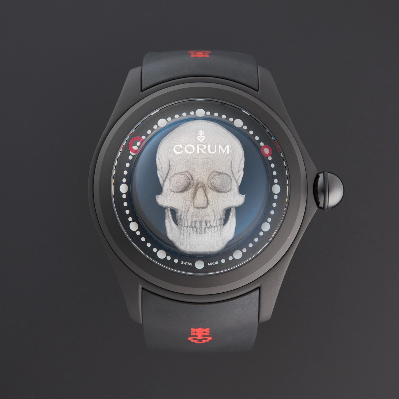 Corum Big Bubble Magical 52 3D Skull Automatic // 390 101 95-0371
