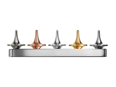 Photo of ForeverSpin Perfectly Balanced Spinning Tops Mini Metal Museum by Touch Of Modern