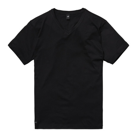 Harvey High V Neck T-Shirt // Matt Black (S)