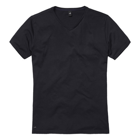 Harvey High V Neck T-Shirt // Night Blue (S)