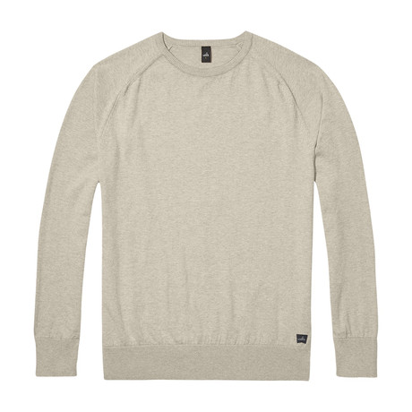 Cross Egyptian Cotton Sweater // Sand (S)