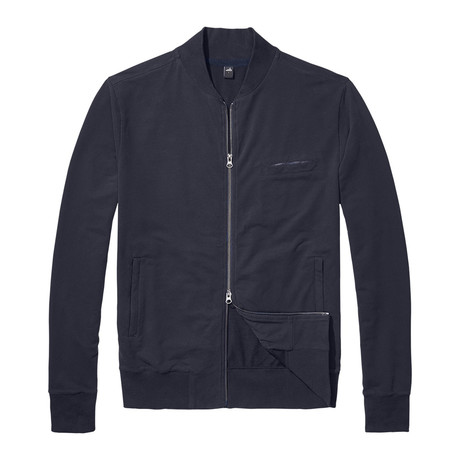 James Tailored Bomber Jacket // Night Blue (S)